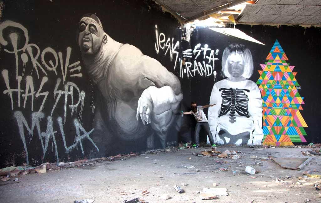 Mural finiquitado